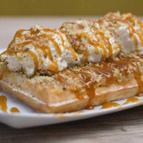 Tufahija waffle delivery