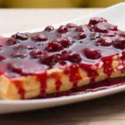 Cheesecake waffle