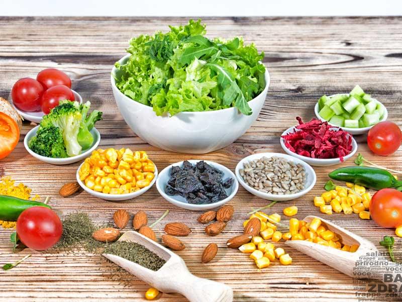 Baš zdrava salata dostava