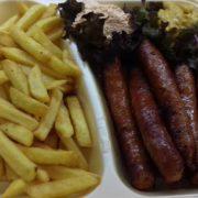 Domaća dimljena kobasica  obrok