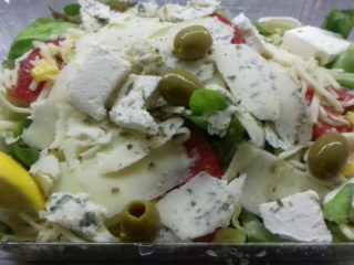 Formaggio salad delivery