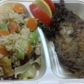 Grilled catfish fillet delivery