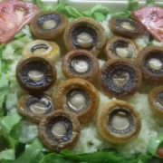Grilled mushrooms - meal