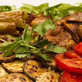 Grilovano povrće porcija dostava