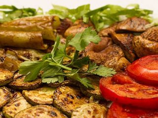 Grilled vegetables portion Kaktus dostava