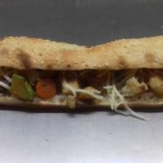 Sandwich with grilled vegetables