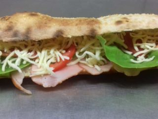 Sandwich with pecenica Pantela delivery
