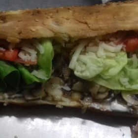 Sandwich with mushrooms delivery