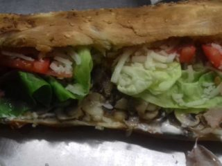 Sandwich with mushrooms Pantela delivery