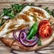 Grilled chicken fillet - meal