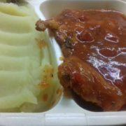 Piletina paradajz, bosiljak  obrok