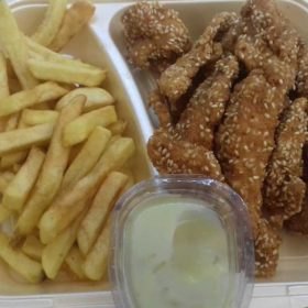 Chicken sesame - meal delivery