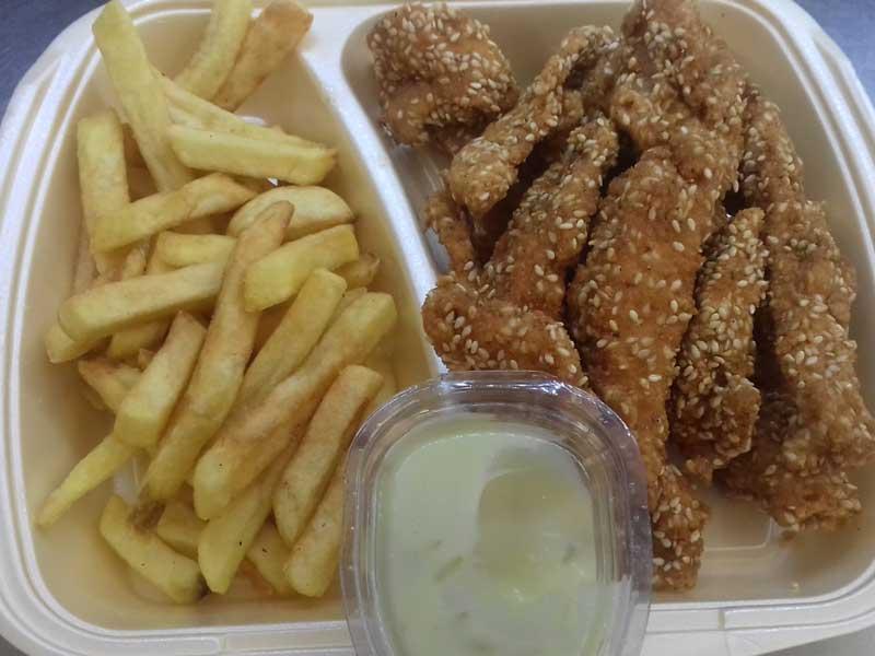Piletina susam – obrok dostava