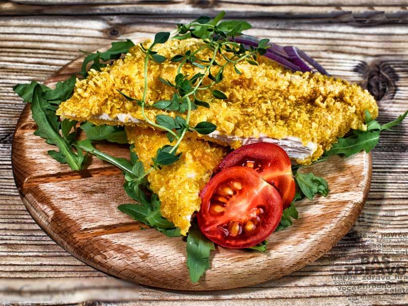 Hrskava piletina u kornfleksu – obrok dostava