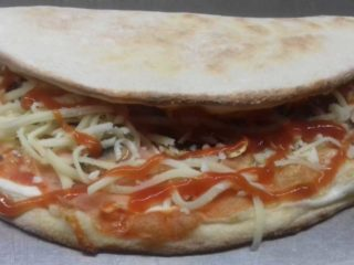 Pizza sandwich delivery