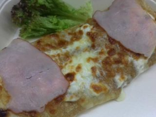 Baked pancake pecenica  cheese  sour cream delivery