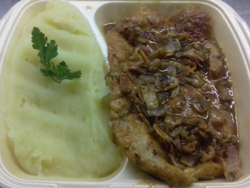 Šnicla na lovački način – obrok dostava