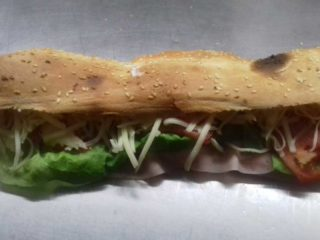 Sandwich with ham Pantela delivery