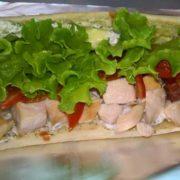 Tzatziki sendvič