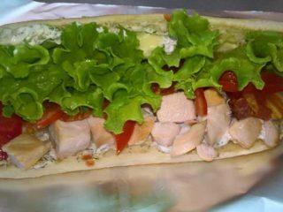 Tzatziki sandwich delivery