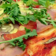 Green love pizza