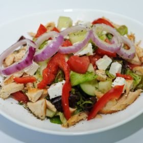 Grčka salata sa giros piletinom dostava