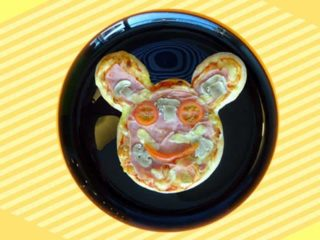 Kids pizza Miki Mouse dostava