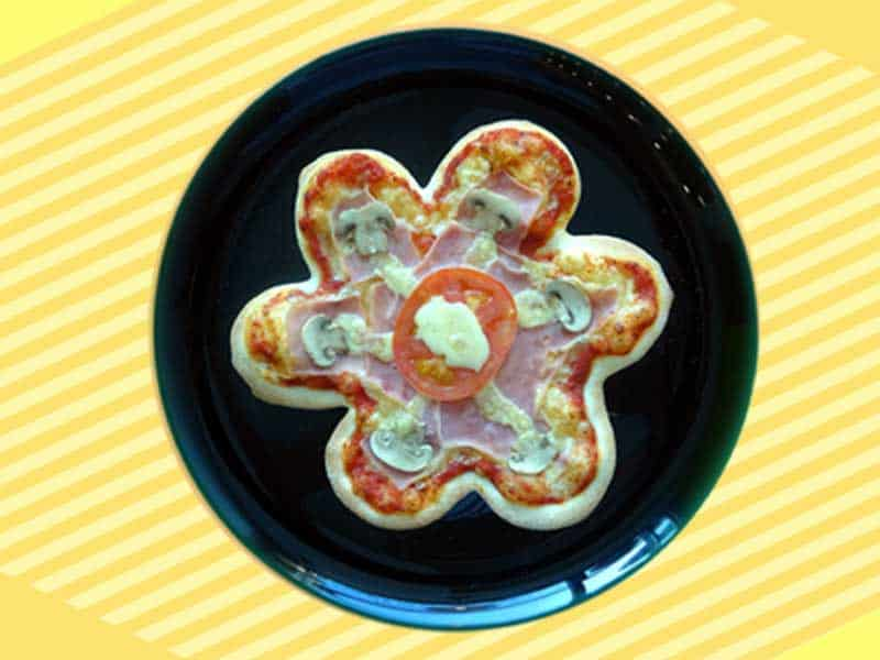 Kids pizza flower delivery