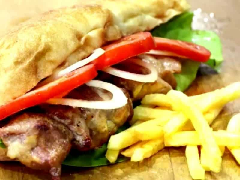 Pork kabob delivery