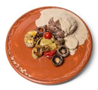 Biftek u peper sosu Konoba Akustik dostava