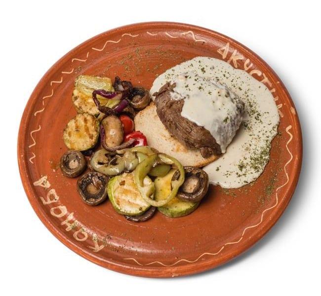 Biftek u sosu od 4 vrste sira dostava