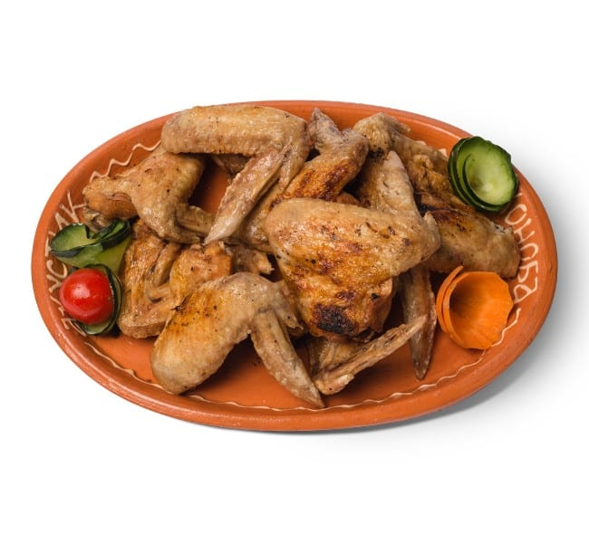 Grilled chicken wings 400 grams delivery