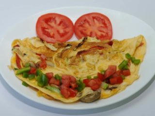 Omelet with vegetables delivery