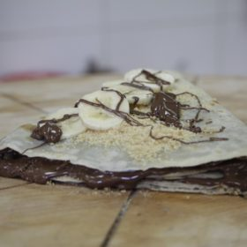 Pancake with nutella delivery