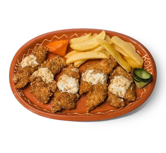 Chicken croquettes delivery