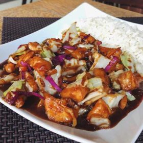 Chicken in soy sauce delivery