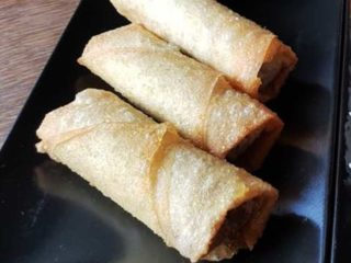 Spring rolls with povrćem delivery