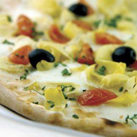 Pizza Carciofi e pomodoro