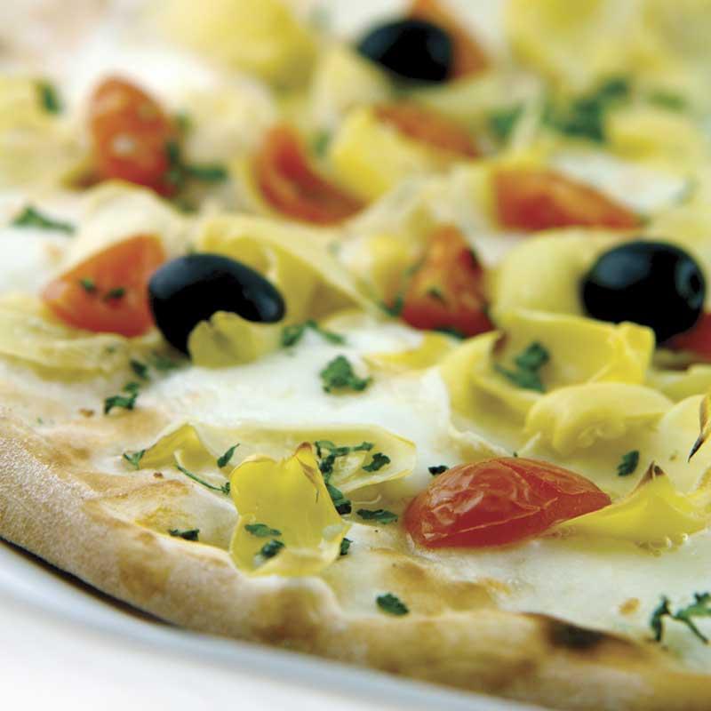 Pizza Carciofi e pomodoro dostava