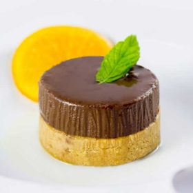 Choco tart orange delivery