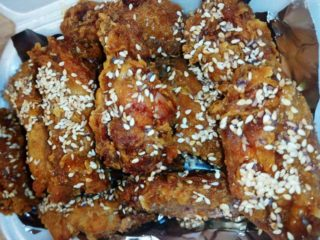 Maestro wings with sesame and honey delivery