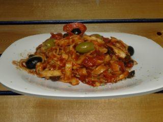 Diavola pasta Balkanika pizza sandwich bar dostava