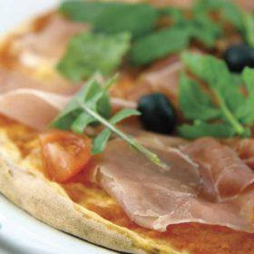 Pizza Prosciutto Crudo e Pomodoro dostava
