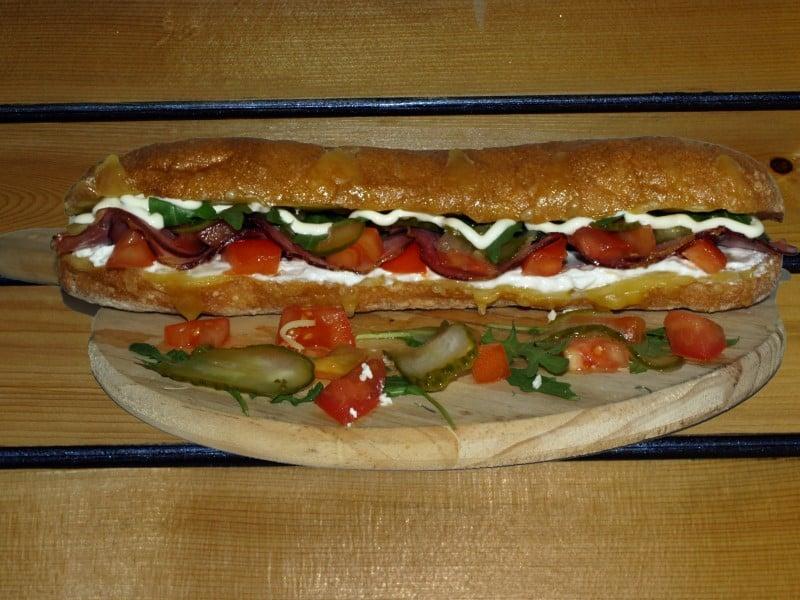 Rustico sandwich delivery