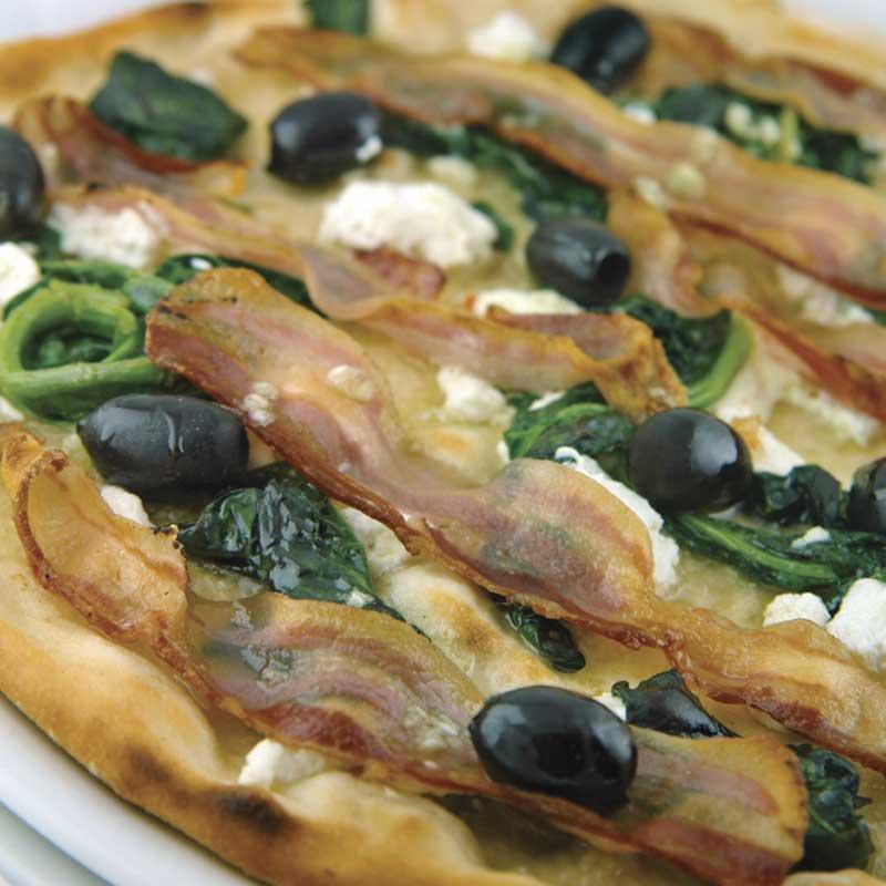 Pica Spinaci e Pancetta dostava