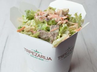 Beef - Been salad Trpezarija salad bar delivery