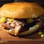 Beef neck sandwich