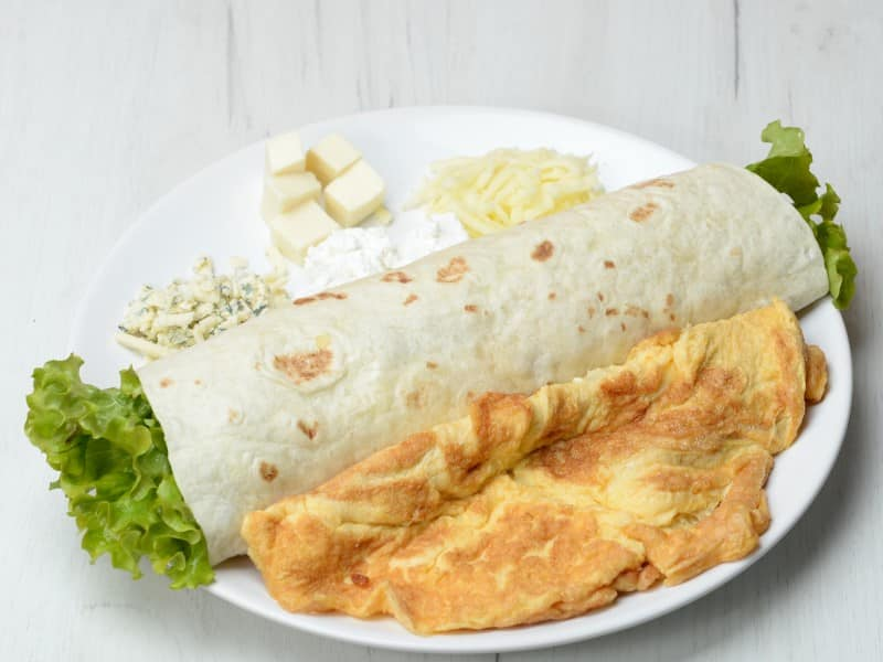 Jumbo 2 omlet u tortilji dostava