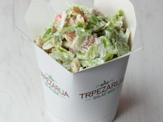 Gorgonzola salad Trpezarija salad bar delivery