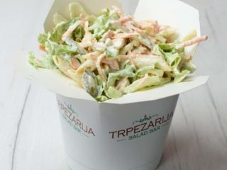 Curry salad Trpezarija salad bar delivery